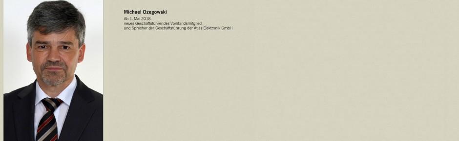 Bremer Atlas Elektronik GmbH mit neuem CEO