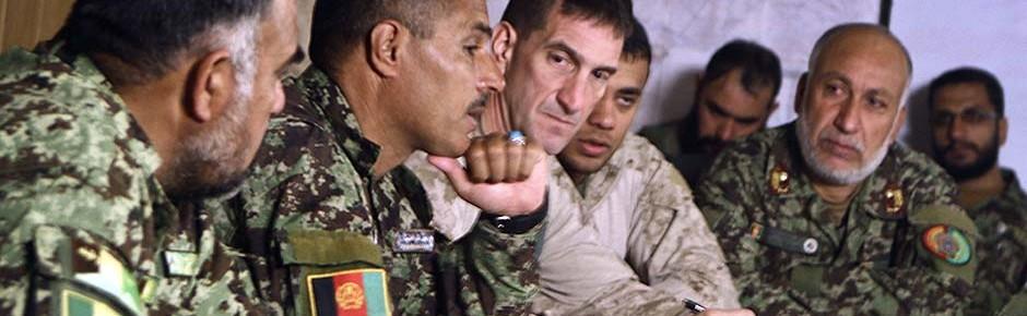 Milliarden US-Dollar jährlich für afghanische Sicherheitskräfte