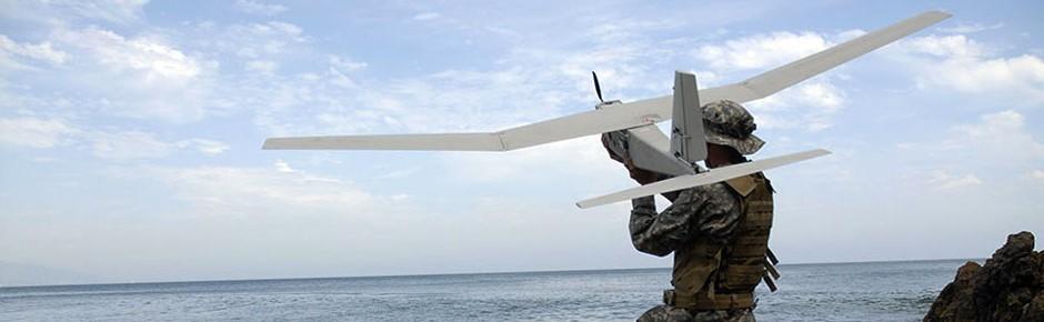 Drohnensystem Puma AE II für die deutsche Marine