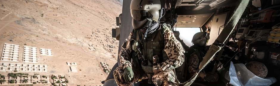 Bundeswehrhubschrauber retten in Mali Leben