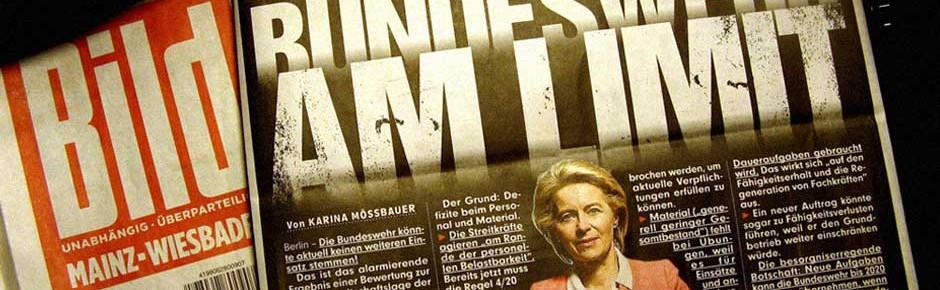 """""""Bedingt einsatzbereit"""": BILD und eine """"Geheim-Analyse"""" …"""