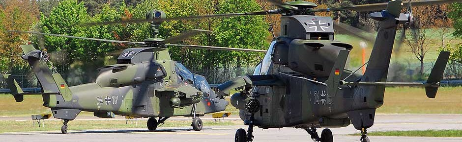 Kampfhubschrauber Tiger: Abnahme der letzten Maschine