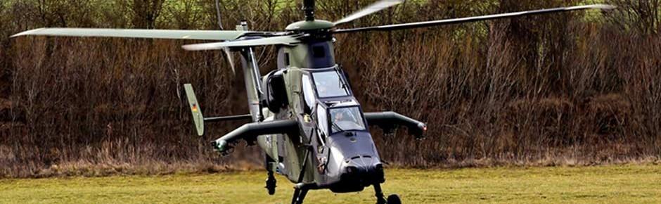 Grundlagenarbeit für den Kampfhubschrauber Tiger MkIII