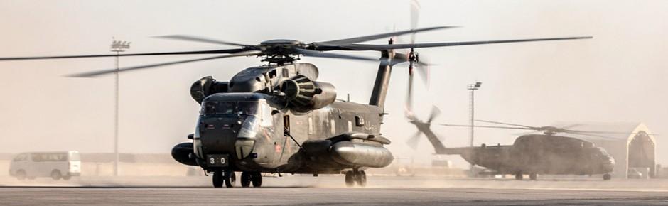 Deutsche CH-53 in Nordafghanistan unter Beschuss geraten