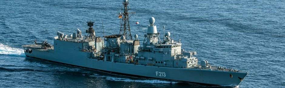 """Fregatte """"Augsburg"""" vorzeitig zurück von Operation """"Sophia"""""""