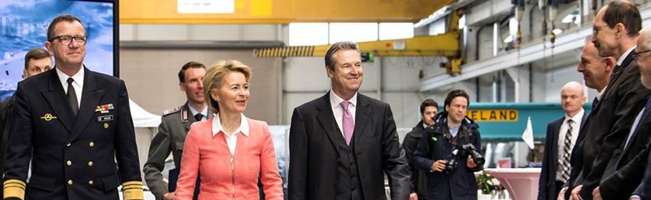 Lürssen-Werft startete Bauphase der fünf neuen Korvetten