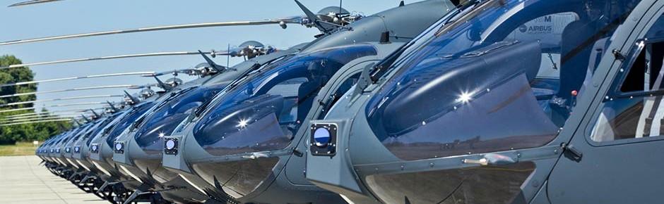 Selbstschutzsystem AMPS von Hensoldt für Hubschrauber