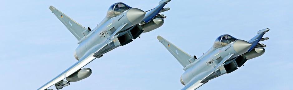 """Eurofighter-Absturz: """"Ein schwerer Tag für die Bundeswehr"""""""