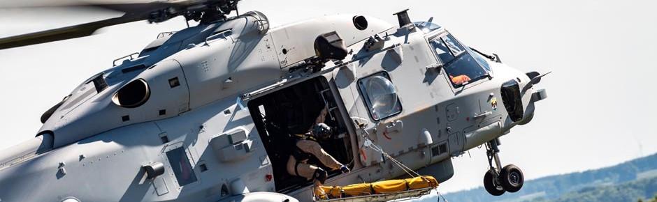 Hubschrauber NH90 Sea Lion überzeugt bei Demoflügen
