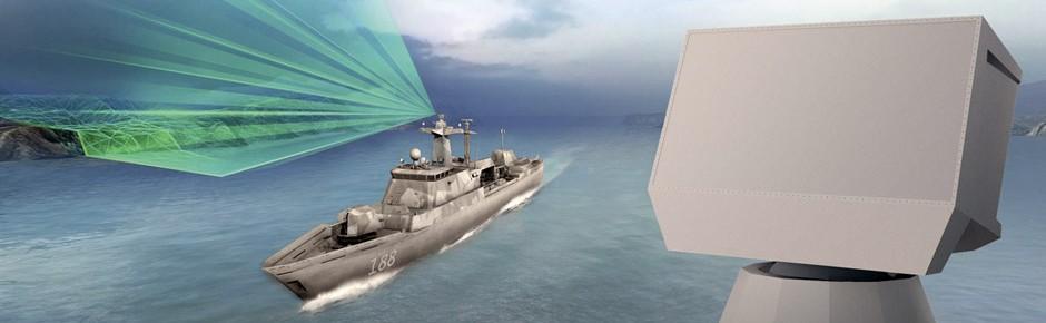 Schiffsradar TRS-4D Rotator für die neuen Korvetten
