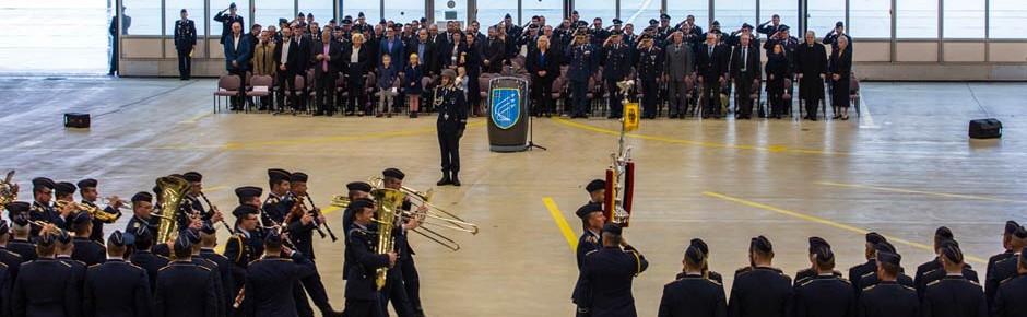 Waffenschule der Luftwaffe feierlich in Dienst gestellt