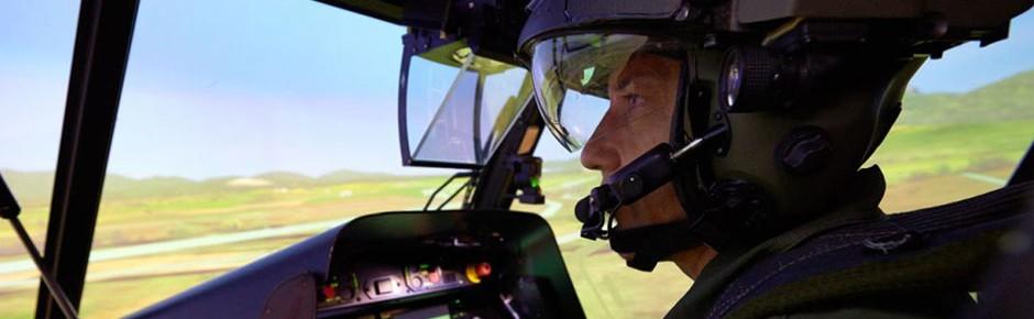 Modernisierung der Tiger-Flugsimulatoren abgeschlossen