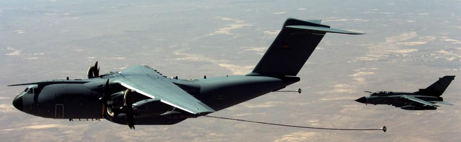 A400M in Jordanien: Infrarot-Schutz vor Boden-Luft-Raketen