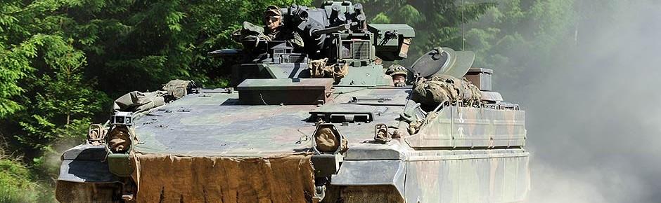 Nutzungsdauer für Schützenpanzer Marder wird verlängert