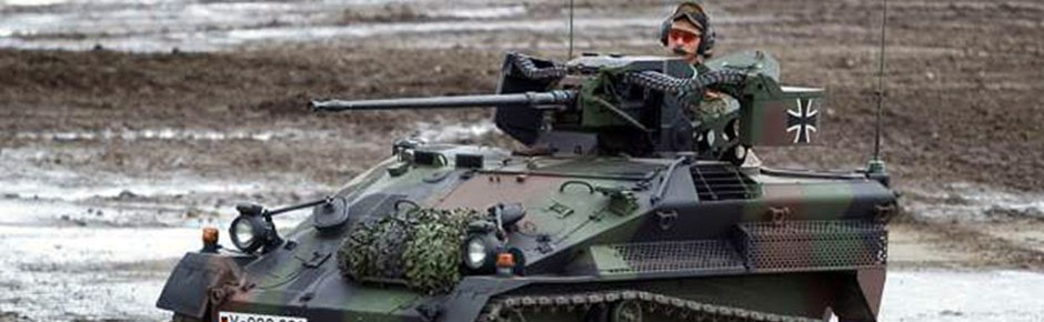 CAMAC-Schutztechnologie für den Waffenträger Wiesel