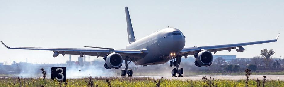 Erster A330 MRTT für die MMR-Flotte der NATO ausgeliefert