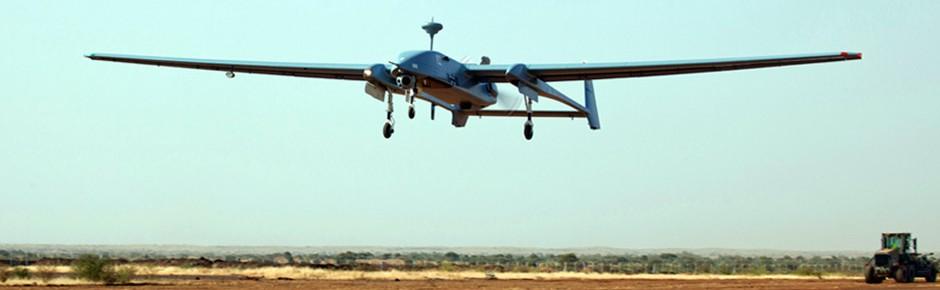 Afghanistan und Mali: Drohne Heron 1 weiter im Einsatz
