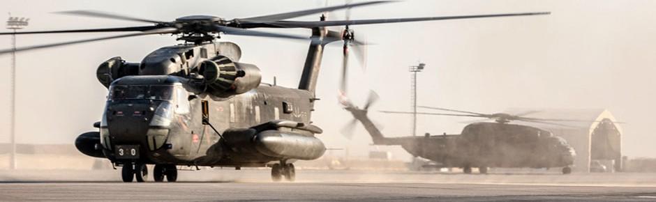 Sikorsky versorgt CH-53G der Luftwaffe mit Ersatzteilen