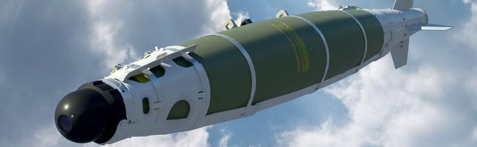 Präzisionsmunition GBU-54 für den Eurofighter