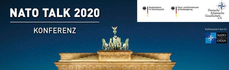 "Digitale Konferenz ""NATO Talk 2020"" aus Berlin"