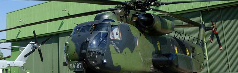 Rheinmetall betreut und wartet jetzt den CH-53G in Diepholz