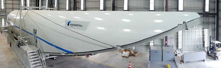 Laderaum-Simulatoren für den Militärtransporter A400M