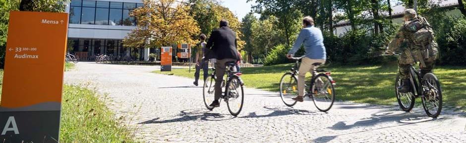 Dienstfahrräder der Bundeswehr zu 93 Prozent einsatzbereit