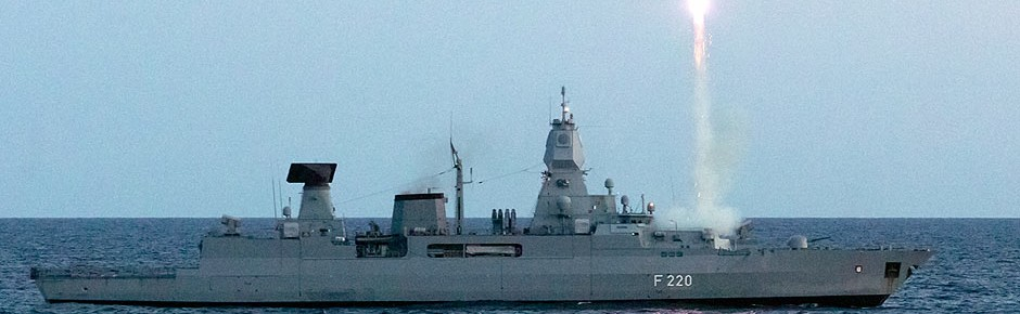 """Fregatte """"Hamburg"""" trainiert für NATO-Raketenabwehr"""