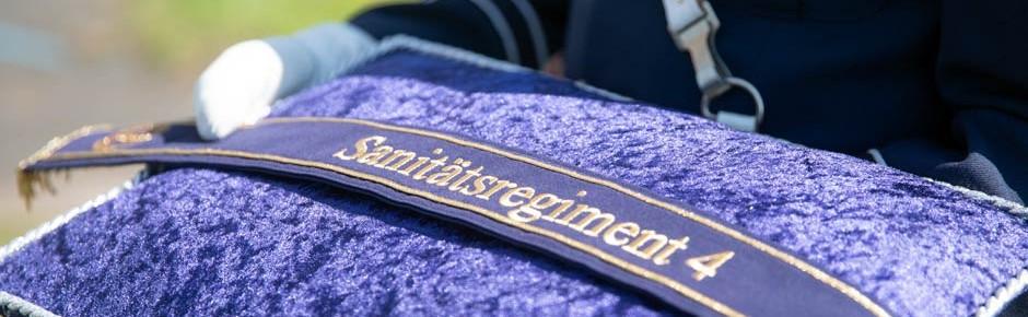 Ministerin stellte in Rheine Sanitätsregiment 4 in Dienst