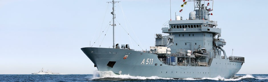 """""""Elbe"""" und """"Homburg"""" mehrere Monate unter NATO-Flagge"""