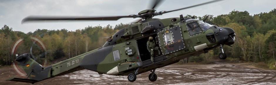 NH90 des Deutschen Heeres erhalten Upgrade für den Einsatz