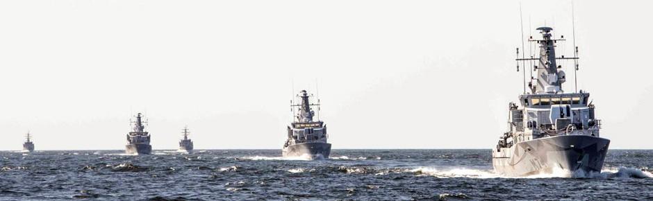 """Internationales Großmanöver """"NoCo 21"""" in der Ostsee"""