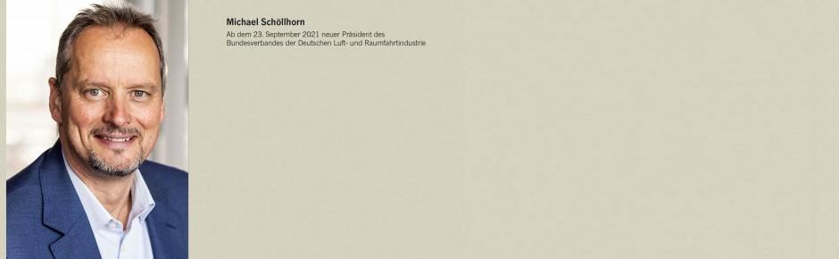 Michael Schöllhorn will den BDLI in die Zukunft führen