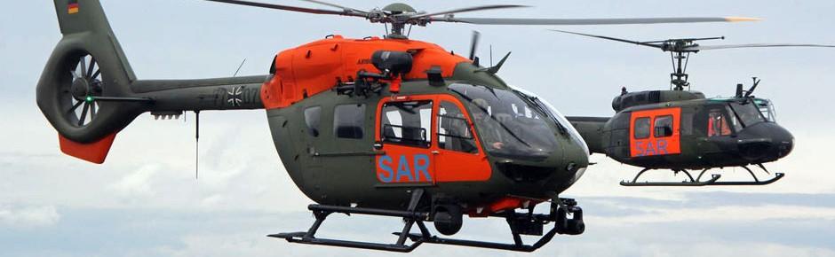 SAR-Hubschrauber des Heeres mit 682 Rettungseinsätzen