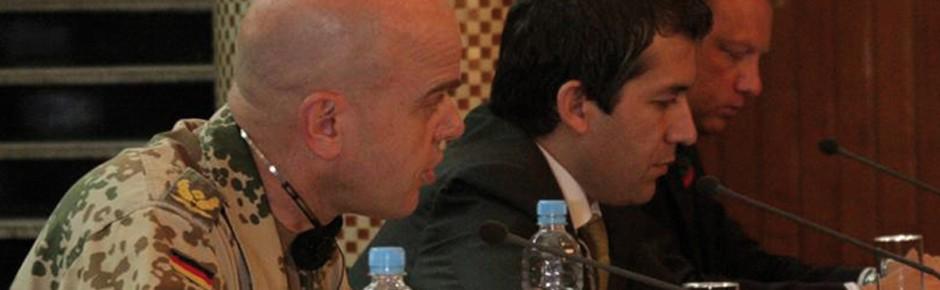 Stimme und Gesicht von ISAF