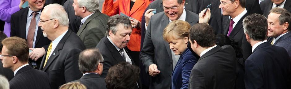 """""""Das letzte Wort des Bundestages ist nicht verhandelbar"""""""