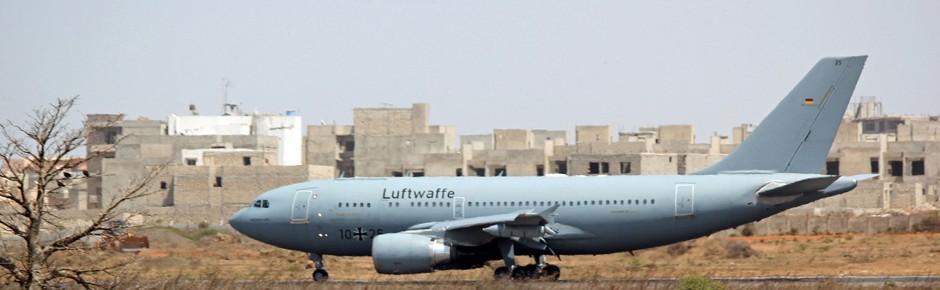 Beim Lufttransport kaum noch ausreichend Ressourcen?