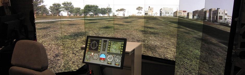 Vor realen Missionen zum Training in den Container