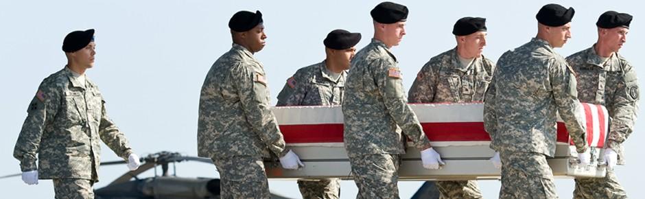 Abschied von General Harold J. Greene in Arlington