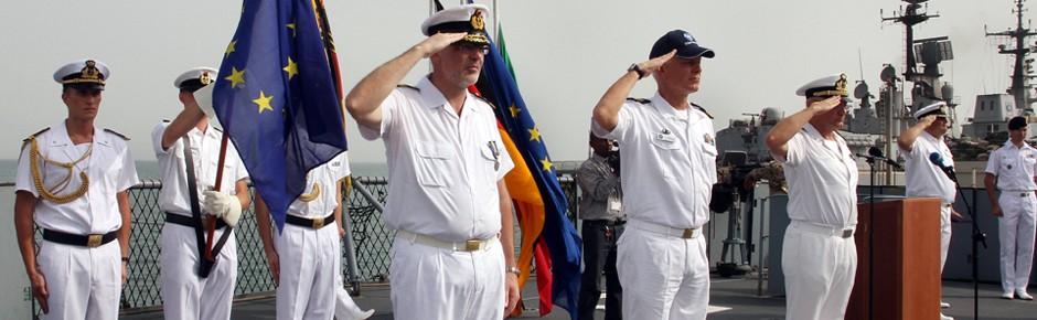 Kommandowechsel bei der Operation Atalanta