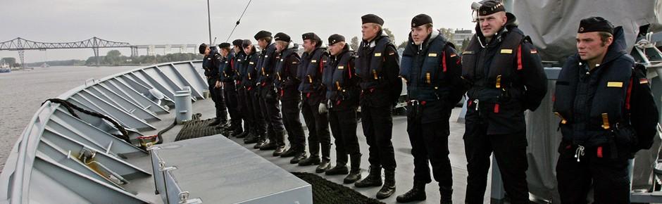 Belastungsgrenze bei vielen Marinesoldaten erreicht?
