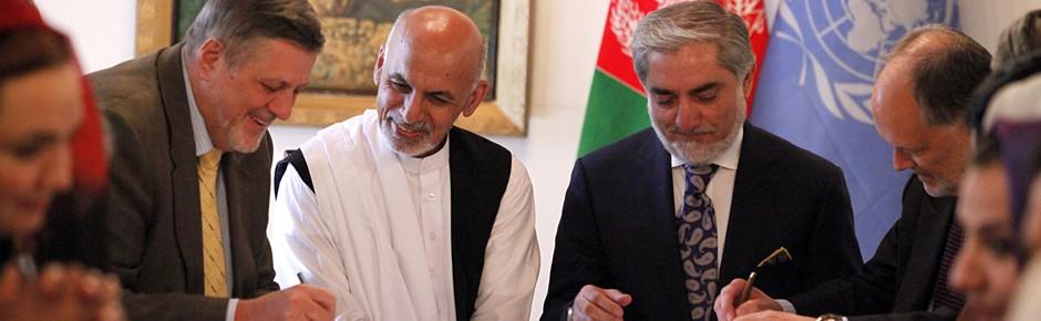 Ashraf Ghani wird neuer Staatspräsident Afghanistans