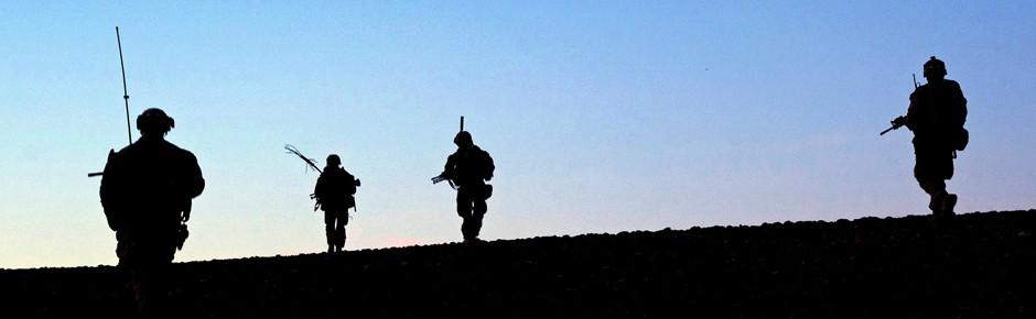 Afghanistan – Briten und Amerikaner holen ihre Flaggen ein