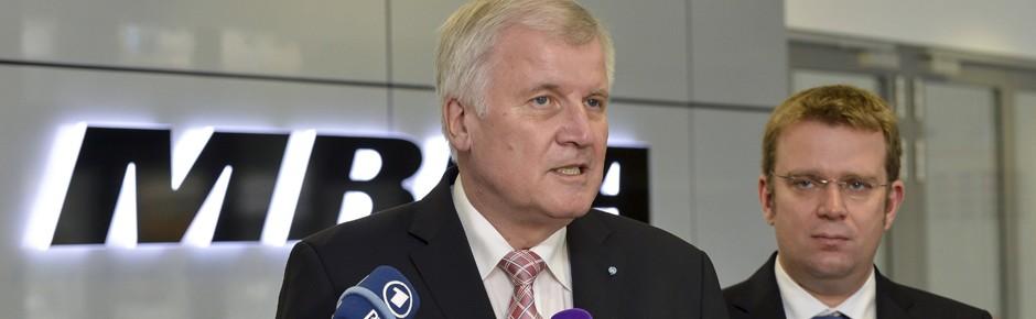 Ministerpräsident Seehofer will für MEADS kämpfen