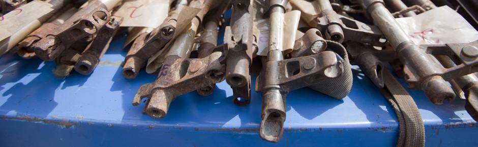 Arms Trade Treaty – von der Pistole bis zum Panzer
