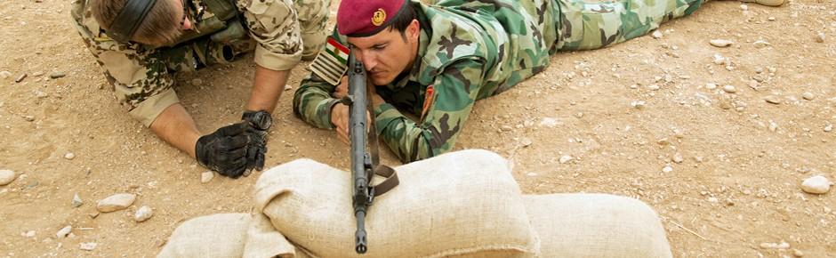 Bundeswehr soll im Nordirak ausbilden und beraten