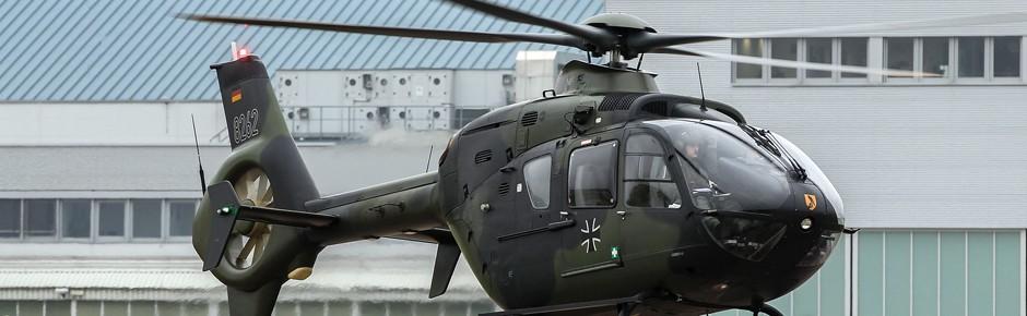 Full-Service-Support für Schulungshubschrauber EC135