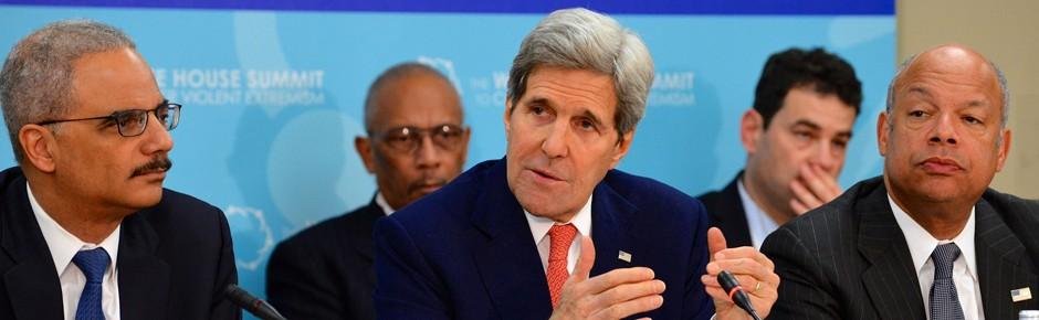 Anti-Terror-Gipfel in Washington: alle in einem Boot