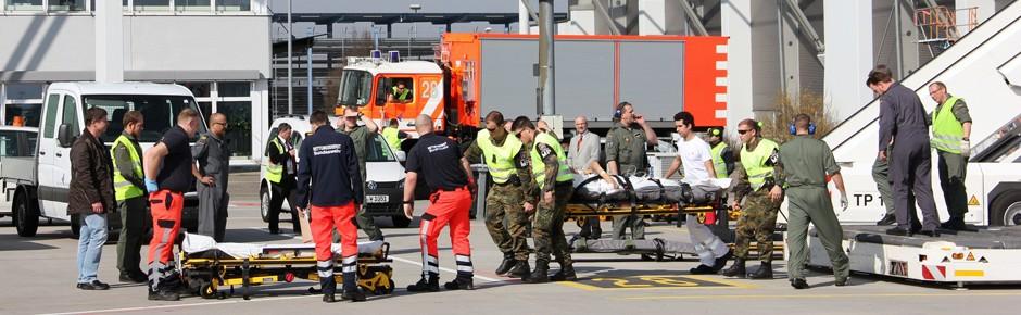Bundeswehr hilft 17 verwundeten ukrainischen Soldaten