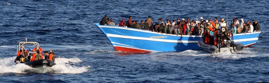 Neue große Flüchtlingswelle im Mittelmeer erwartet